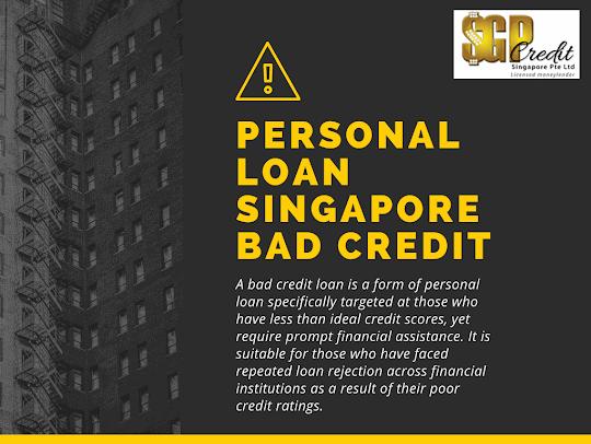 personal loan singapore bad credit